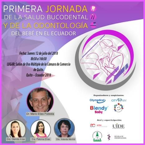 I Jornada de la Salud Bucodental del Bebé Ecuador 2018